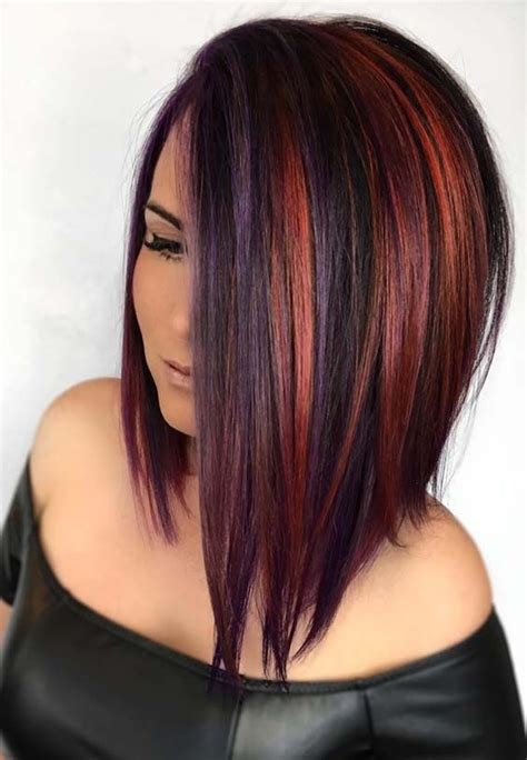 discover here the best cutting techniques and hair color ideas for medium length haircuts to