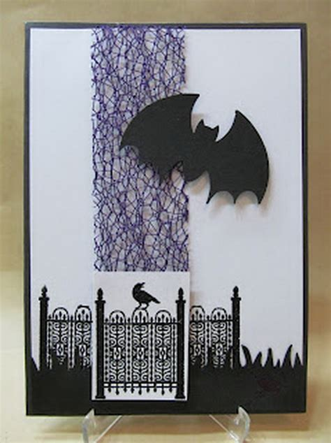 ideas  making elegant homemade halloween cards family