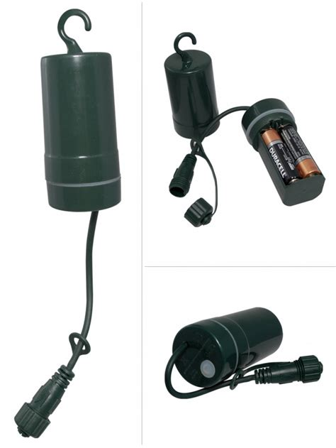 lighting connect battery pack power source with timer