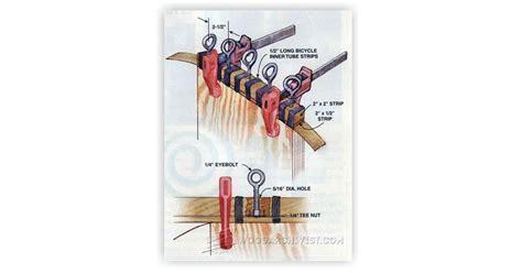 diy edge banding clamp woodarchivist