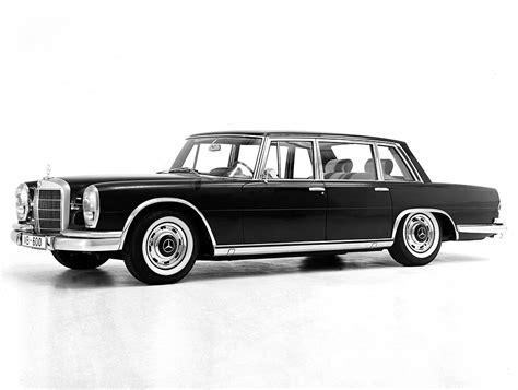Mercedes Limousine by 1963 1981 Mercedes 600 Limousine Review Supercars Net