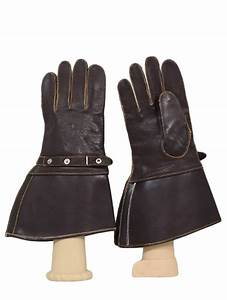 50s Vintage J F Stocko Gloves: 50s -J F Stocko- Mens brown ...