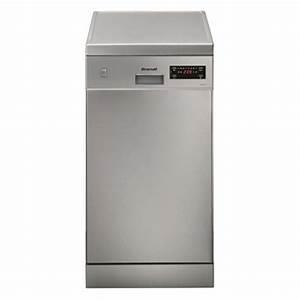 Lave Vaisselle Encastrable 9 Couverts : lave vaisselle 45cm 9 couverts brandt brandt dfs1009x electro vente ~ Melissatoandfro.com Idées de Décoration