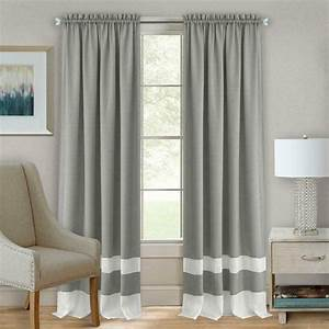 2, Pack, Shabby, Linen, Farmhouse, Sheer, Flax, Window, Curtains, -, Gray, 63, In, Long