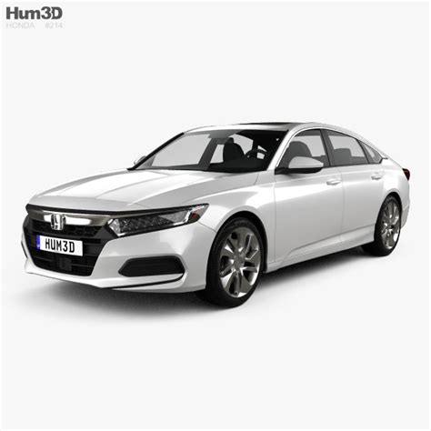 2018 Honda Accord Lx by Honda Accord Lx Us Spec Sedan 2018 3d Model Vehicles On