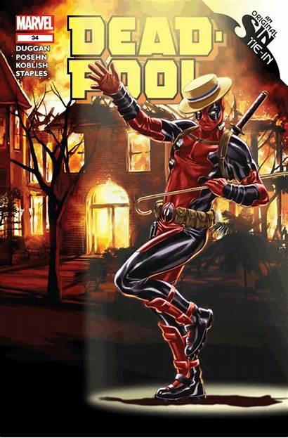 3d Deadpool Motion Goes Comic Comics September