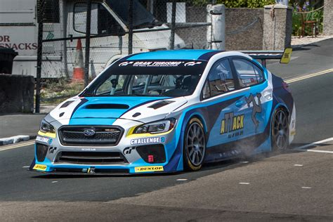 modified subaru modified subaru wrx sti sets new isle of man tt lap record