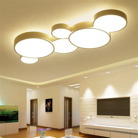 2017 Led Ceiling Lights For Home Dimming Living Room