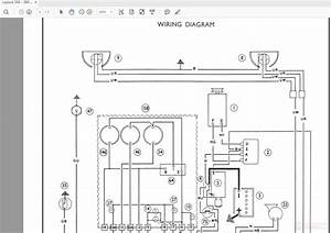 Leyland 344 - 384 Tractor Wiring Diagrams