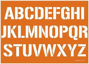 2 inch 7039s film alphabet stencils uppercase lowercase With 2 in letters