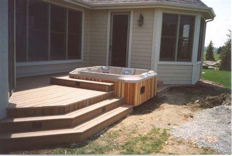 hot tubs  decks  great decks wood hot tubs  wood