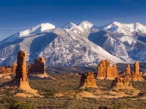 Utah National Parks Mountains