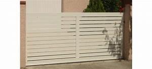 Portail Alu Coulissant 3m : portail coulissant pas cher ajour en aluminium leportailalu ~ Edinachiropracticcenter.com Idées de Décoration
