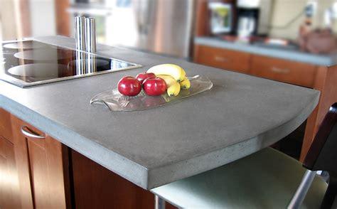 kitchen island panels concrete countertops portfolio trueform
