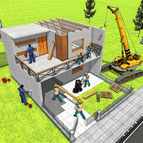 modern home design house construction games   mod