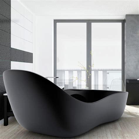 vasca da bagno freestanding laccata design moderno wave