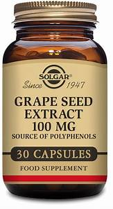 Buy Solgar Grape Seed Extract 100 Mg 30 Capsules