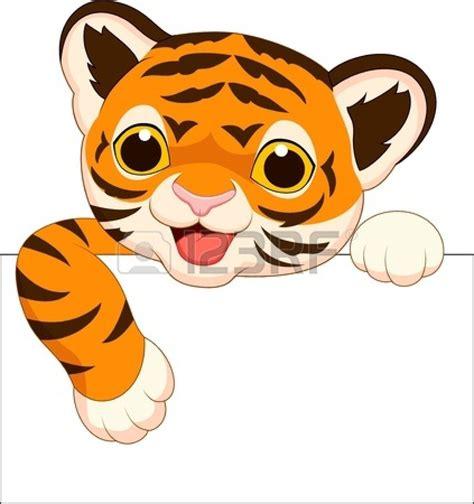 cuteclipartbabies cute tiger cartoon clip art