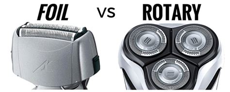 foil rotary differences explained
