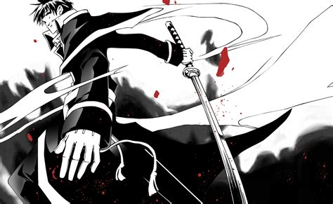 Black And White Anime Wallpaper - black and white swordman hd anime wallpaper 28 2021