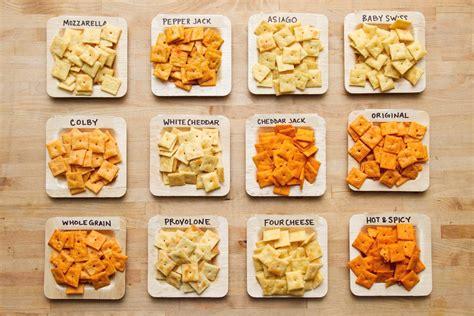 flavor  cheez  crackers taste test