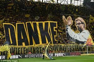 home club dortmund jurgen klopp says goodbye to borussia dortmund fans and