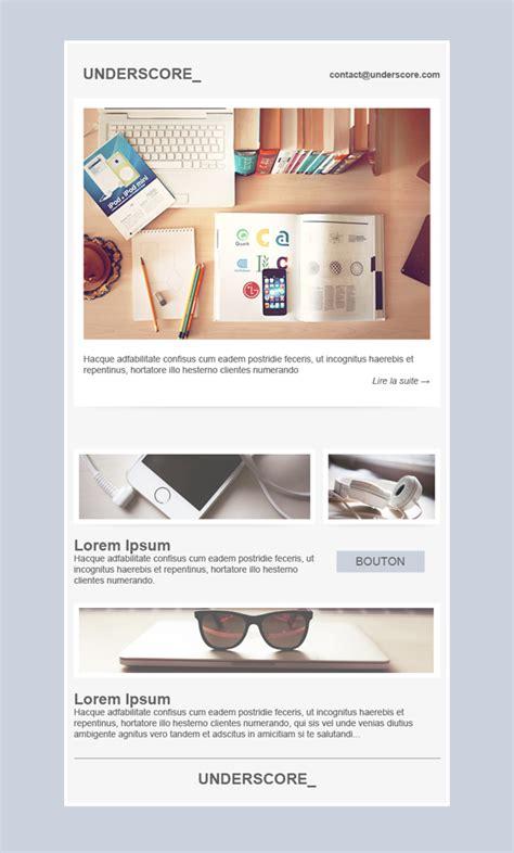 underscore template free email templates design underscore