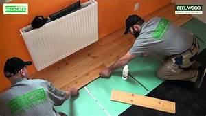 Pokládka lina na plovoucí podlahy