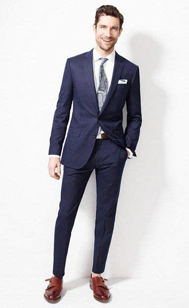 crew ludlow suit jacket  dotted indigo italian cotton suits mens suits