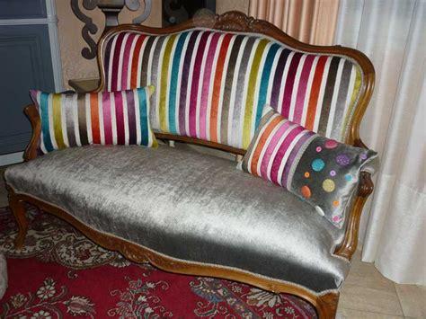tissu pour fauteuil louis xv