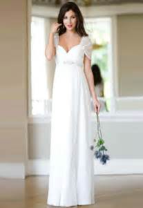 white bridesmaid dresses chic photos of simple wedding dresses with sleeves sangmaestro
