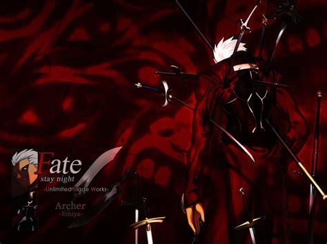 anime fatestay night unlimited blade works archer