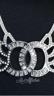 Sparkly Chanel Logo - LogoDix