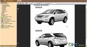 Lexus Rx350    Rx330    Rx300 Service Information Library