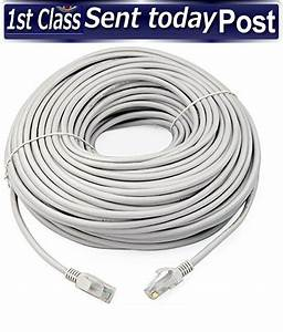 20m Meter Rj45 Cat5e Network Lan Cable Utp Ethernet Patch