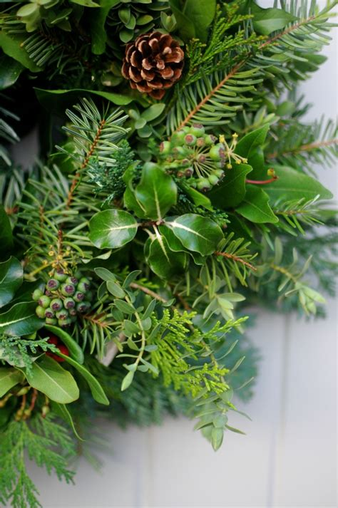 holiday greenery ideas     home