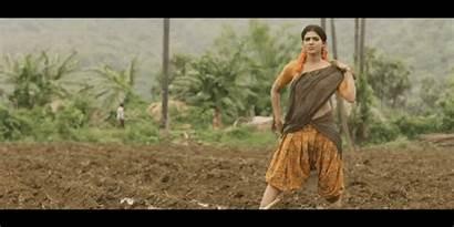 Samantha Cleavage Navel Rangasthalam Indian Actress South