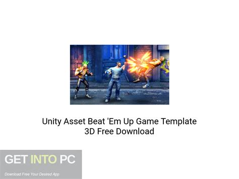 unity asset beat em  game template
