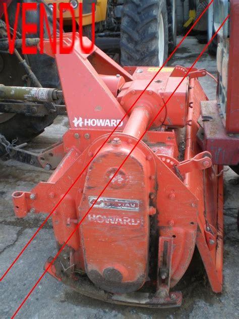 fert demolition pieces agricole valreas rotovator howard