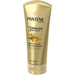 Harga Pantene Conditioner 3 Minute Miracle pantene smooth sleek 3 minute miracle conditioner 6