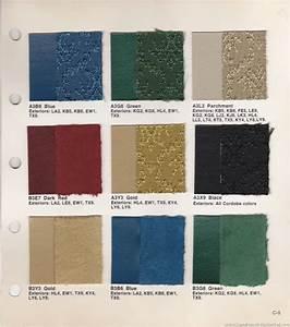 The 1970 Hamtramck Registry - 1975 Chrysler Color  U0026 Trim Book