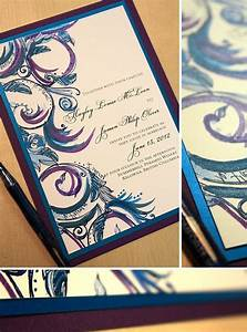 purple and blue wedding invitations teal royal blue With royal blue and turquoise wedding invitations