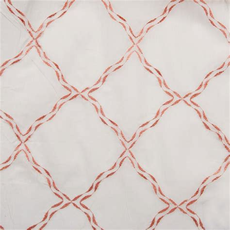 glorious embroidered cotton sheer fabric by the yard