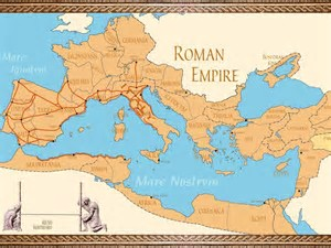 Image result for map of roman empire on coliseum