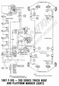 1967 Ford F100 Brake Light Wiring Diagram