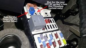 Ford Ecosport Fuse Box Location