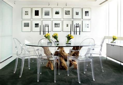 table de cuisine ikea en verre pourquoi choisir la chaise design transparente