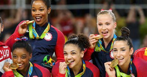 unstoppable  womens gymnastics team takes gold  rio