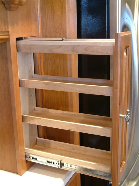 Pull Out Spice Rack Slides by Perhaps A Pull Out Spice Rack Kitchen