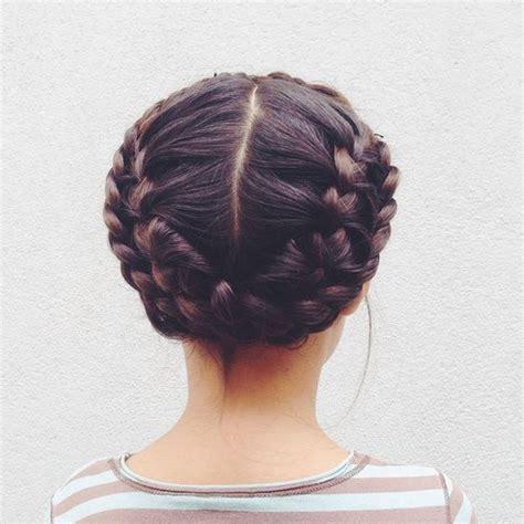 coiffure fille tresse coiffure fille couronne de tresses 45 coiffures